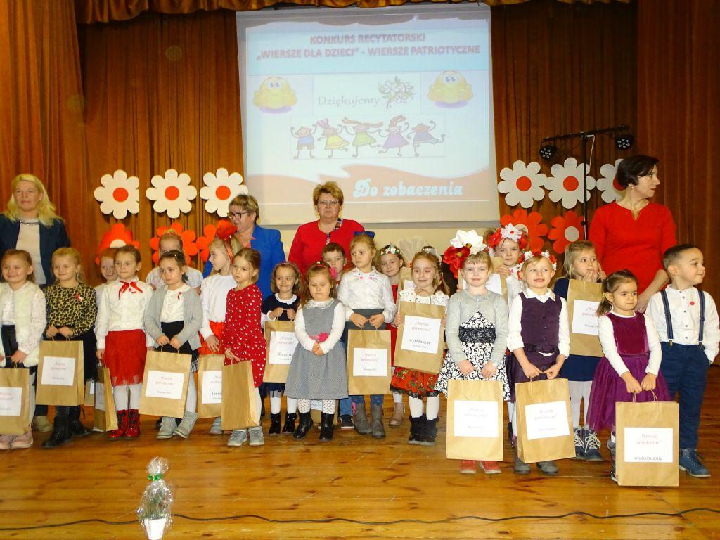 Konkurs Recytatorski Wiersze Patriotyczne Przedszkole
